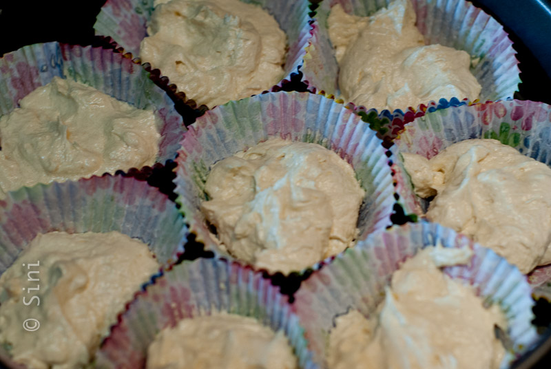 Cake Raw in Cups