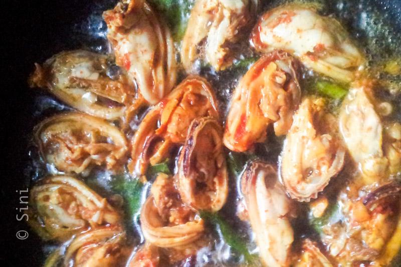 Kallummakkaya Frying